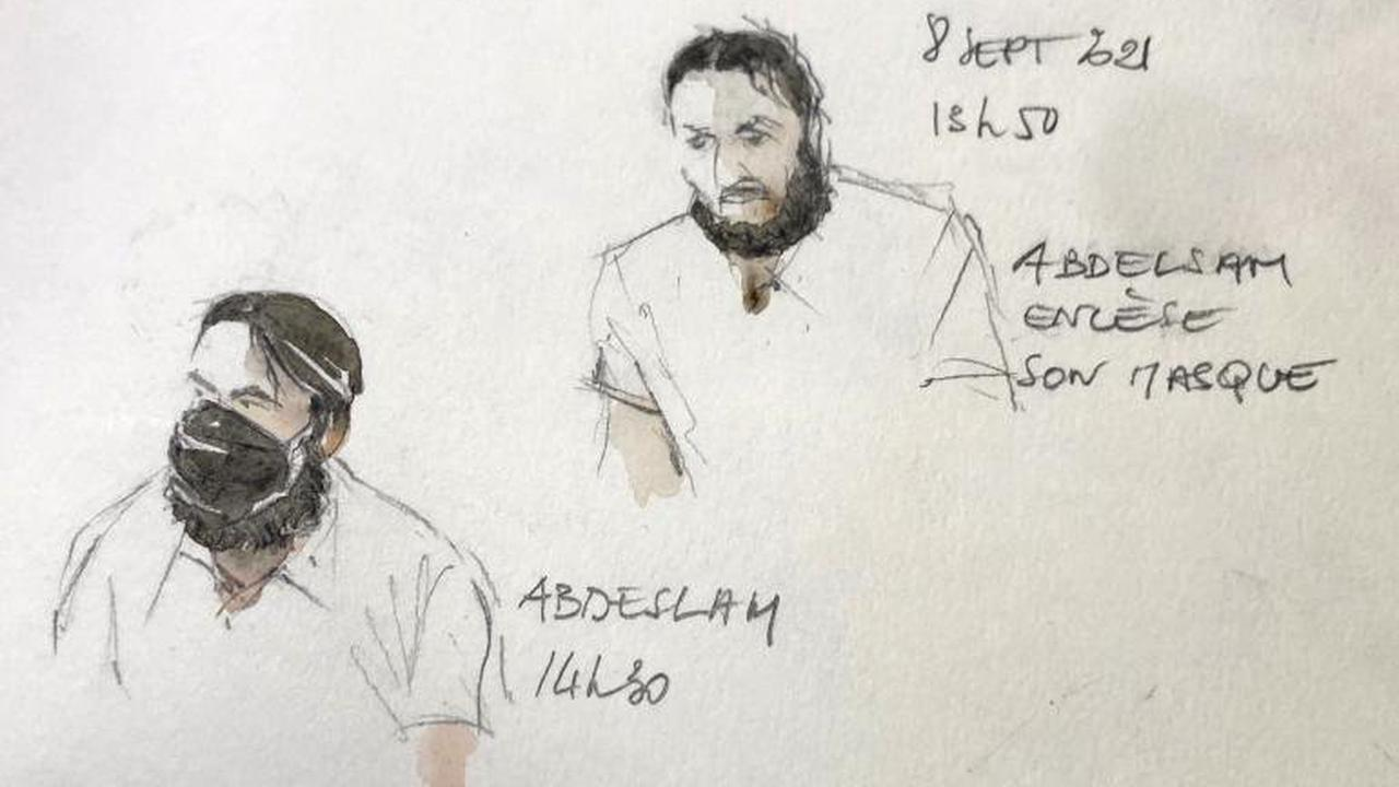 Première audience du procès des attentats du 13 novembre : le principal accusé Salah Abdeslam campe sur ses positions