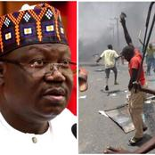 Senate President Ahmed Lawan Reveals Those Who Are Sponsoring Bandits & Terrorism In Nigeria
