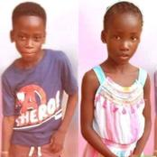 Sad news: see what has happened to these two kids.