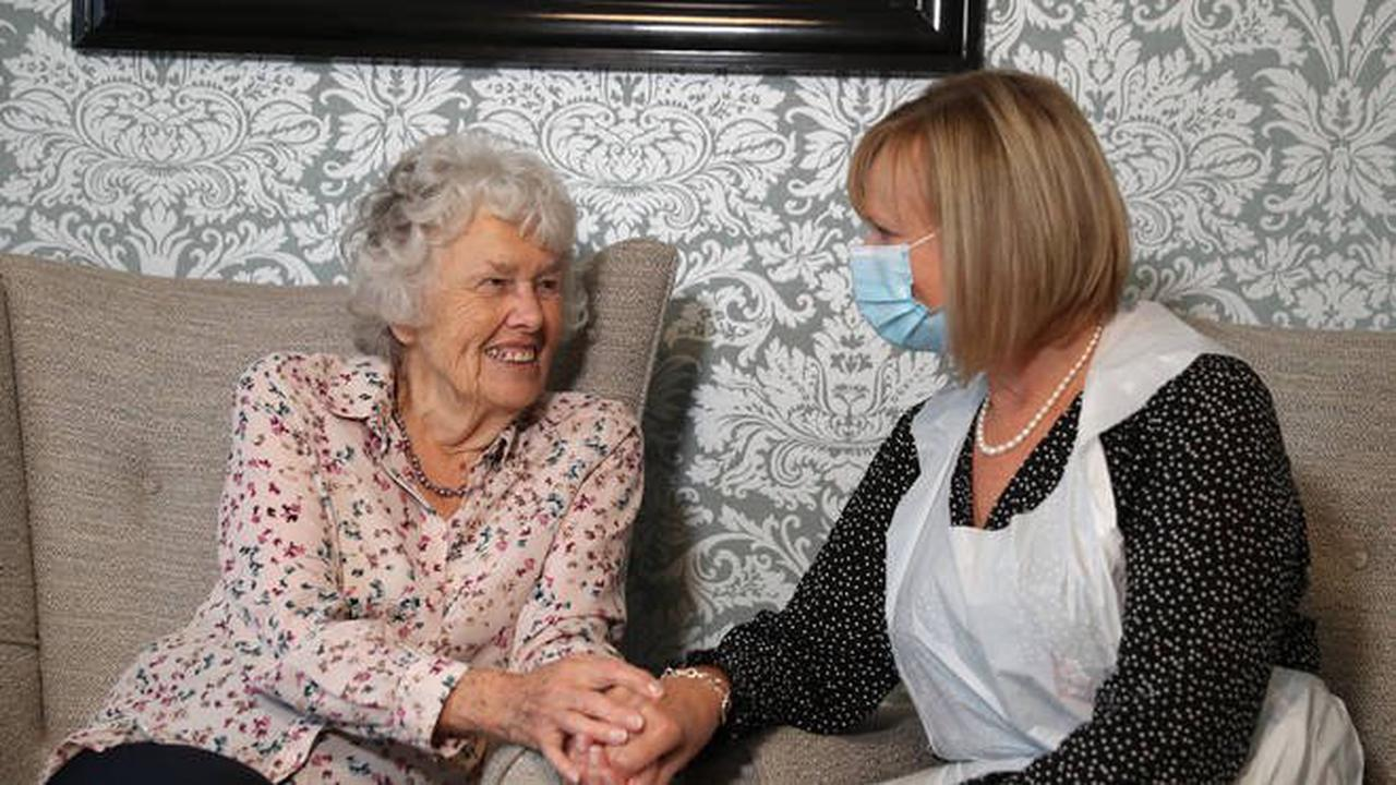 Care homes: More visitors and 'greater freedoms' for residents in England
