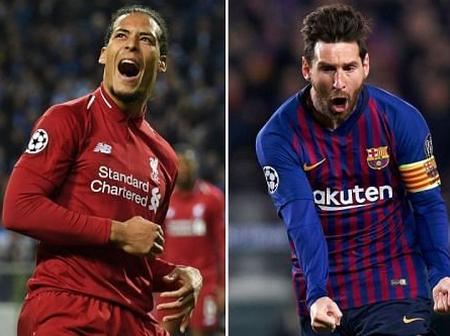 Europe's team of the season named - English players dominate