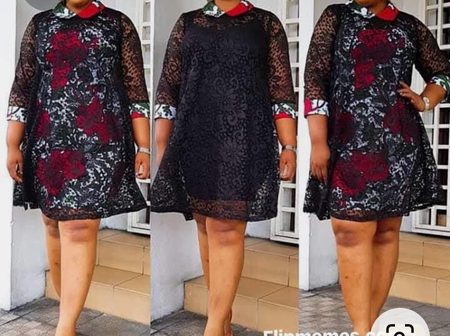 Impressive And Attractive Short Gown Styles For Fashionable Every Lady Who Wants To Slay This Month