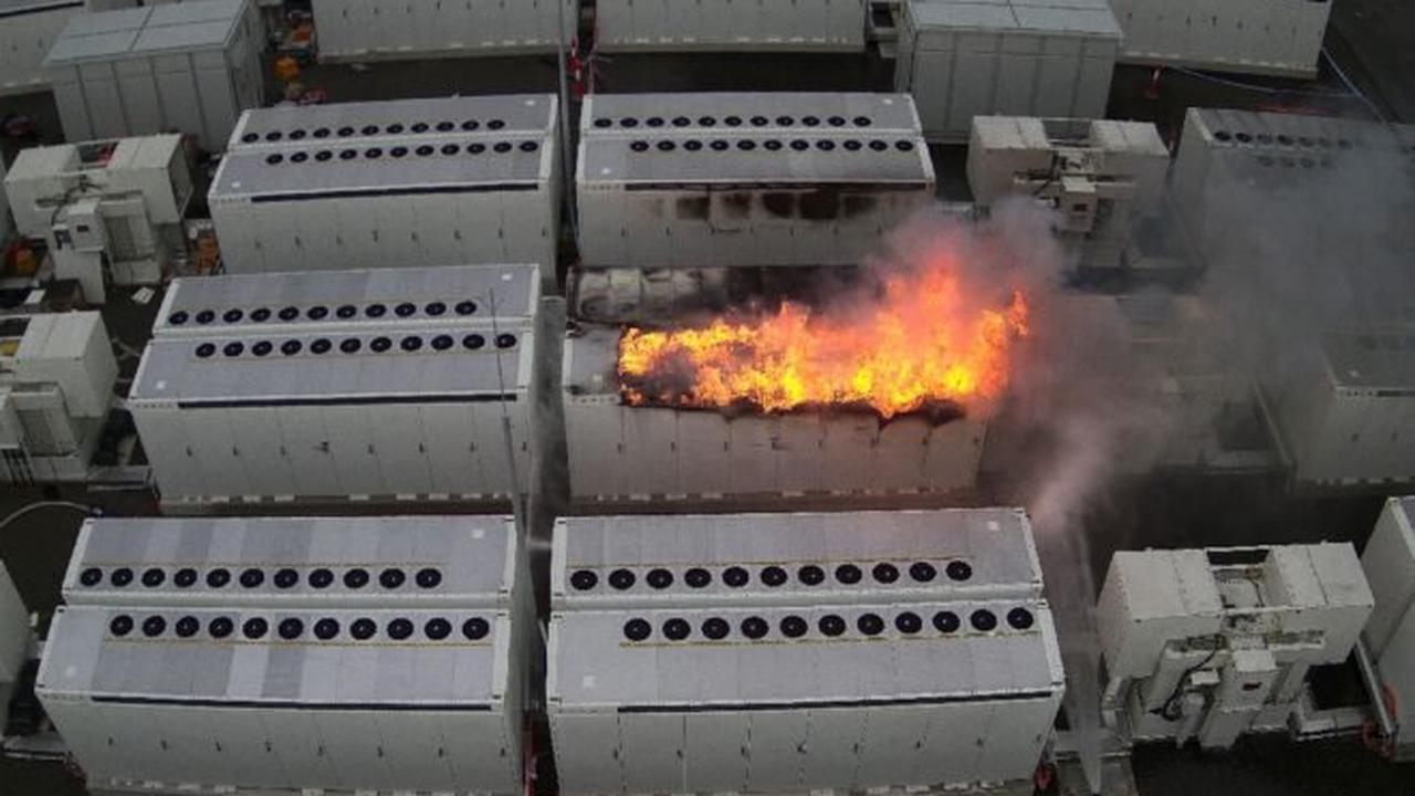 Australia Tesla battery blaze under control after three days