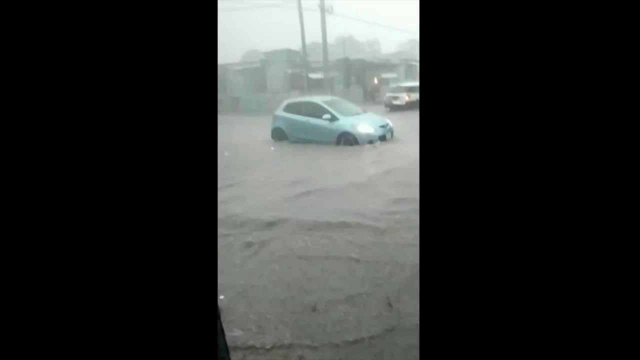 Tropical Storm Elsa Brings Flooding to Jamaica