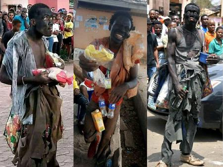 Photos From The Ongoing Rag Day In Anambra State That Will Make You Laugh