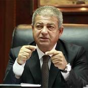 وزير الرياضة السابق يصدم مشجع زملكاوي بسبب