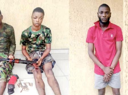 We Use A small phone to change our voice from that of a man to a woman -Suspected kidnapper