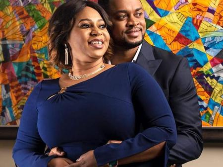 Adwoa Safo shows her romantic side in a lovely photo with handsome husband
