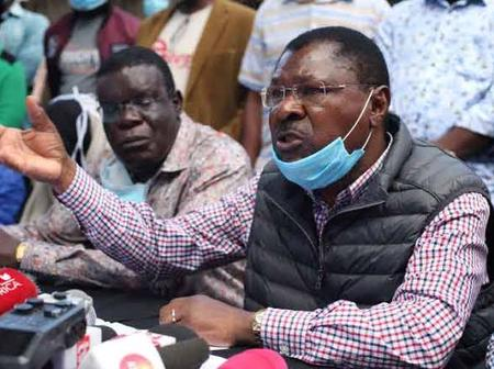 Moses Wetangula Mourns Death Of His Former Party Politician
