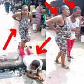 See What This Man Did To His Pregnant Wife That Stirred Reactions Online (Photos)