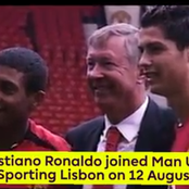 Exactly 17 Years Ago, Ronaldo Came To Manchester United. The Story So Far