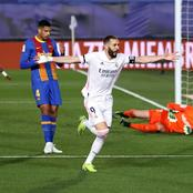 Real Madrid moved top of la Liga with victory over Barcelona in El classico