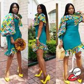 Fashionable Ankara Styles That Worth Trying by Single Ladies