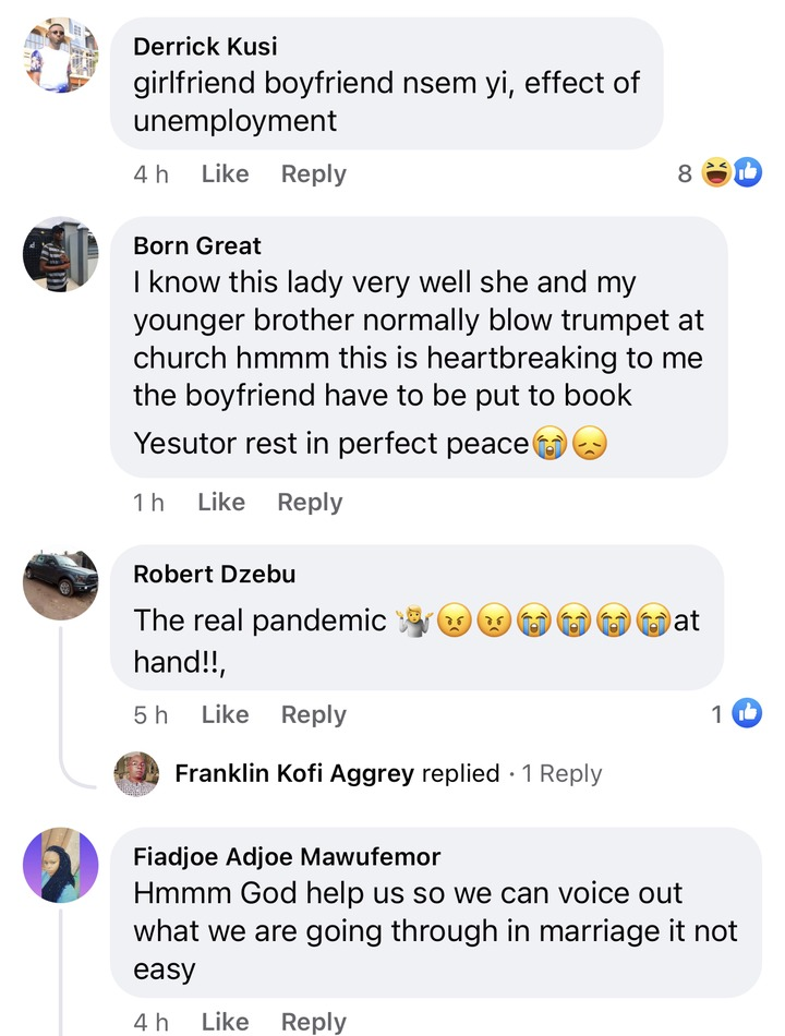 64d44b78788a480a9bd195dbcbbd9d64?quality=uhq&resize=720 - Decent Lady Who Was Allegedly Beaten By Her Boyfriend To Death In HO Dumbfounds Ghanaians - Photos