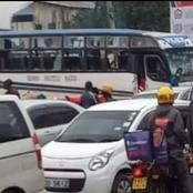 Angry Youths Attempt to Burn Rembo Shuttle After Breaking all its Glasses For Causing an Accident