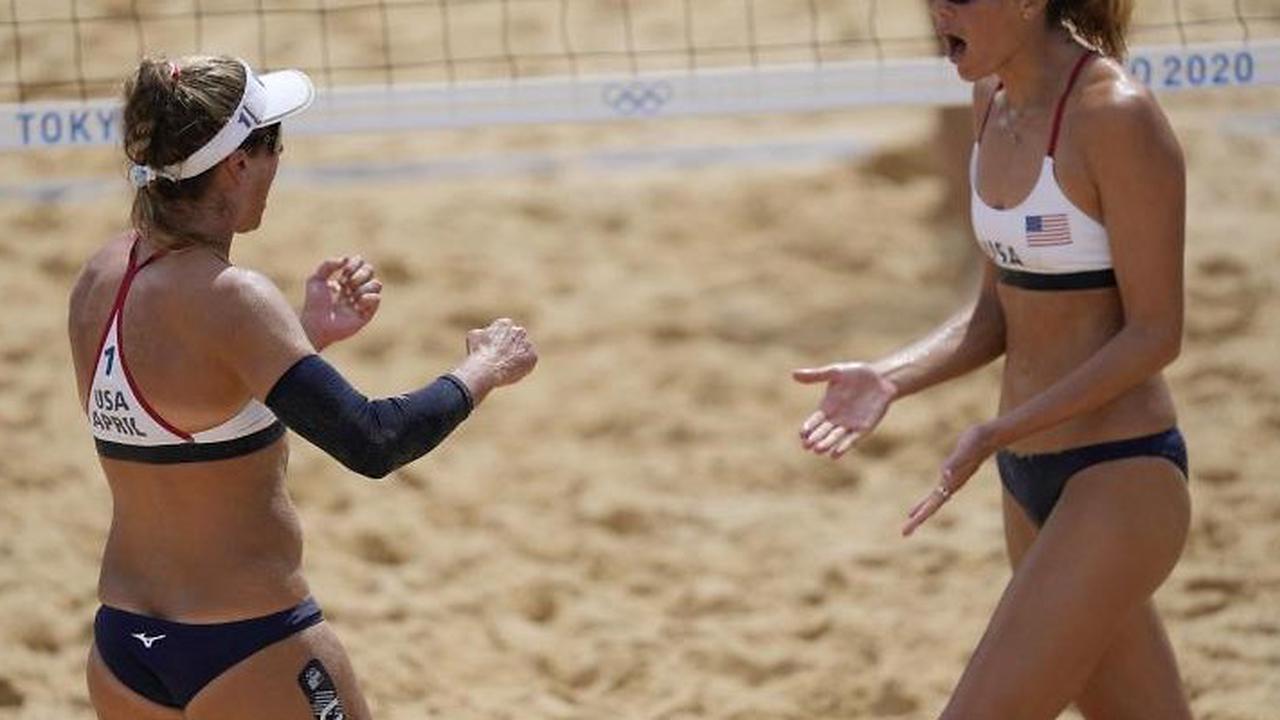 US-Duo Ross/Klineman gewinnt Beachvolleyball-Gold