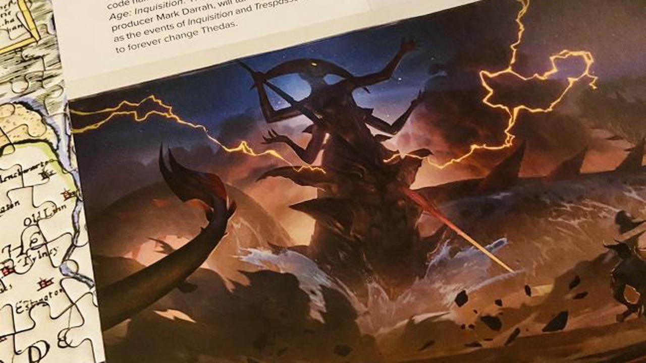 Un livre de BioWare confirme où se déroulera Dragon Age 4