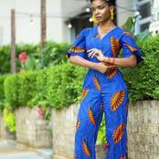 Lovely Ankara Styles For Skinny Ladies To Rock in 2021.