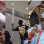 People React as the Oba of Lagos accuse the EndSARS Protesters of Stealing from his palace