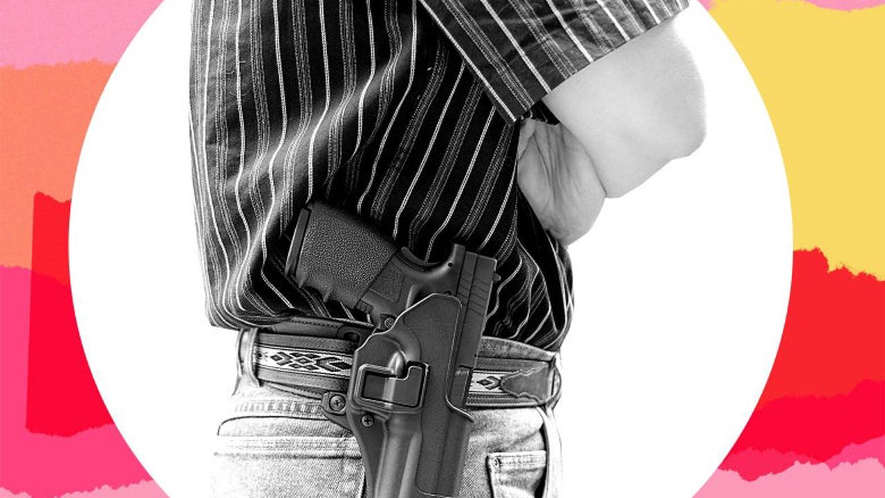 Dear Care and Feeding: My Brother Insists on Always Carrying His Gun, Even Around Kids