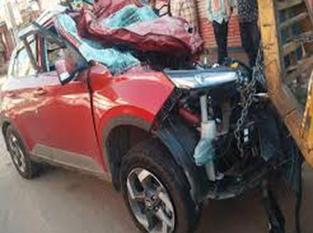 N/R: Two Cars Crash On Tamale Yendi Road