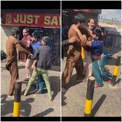 Have you seen Pakistanis turn on each other now you will see this video of them fight in Midrand