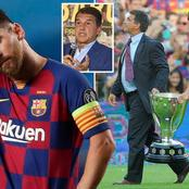 Leo Messi won't continue at Barca - Barca Presidential candidate gives latest update on Leo's future