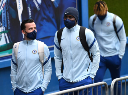 Check out Arrival pictures of Chelsea Stars ahead of the Premier League game against Crystal Palace