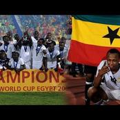 Reasons why Ghana won 2009 U20 world cup and assurance that Black satellites can win U20 Afcon 2021.
