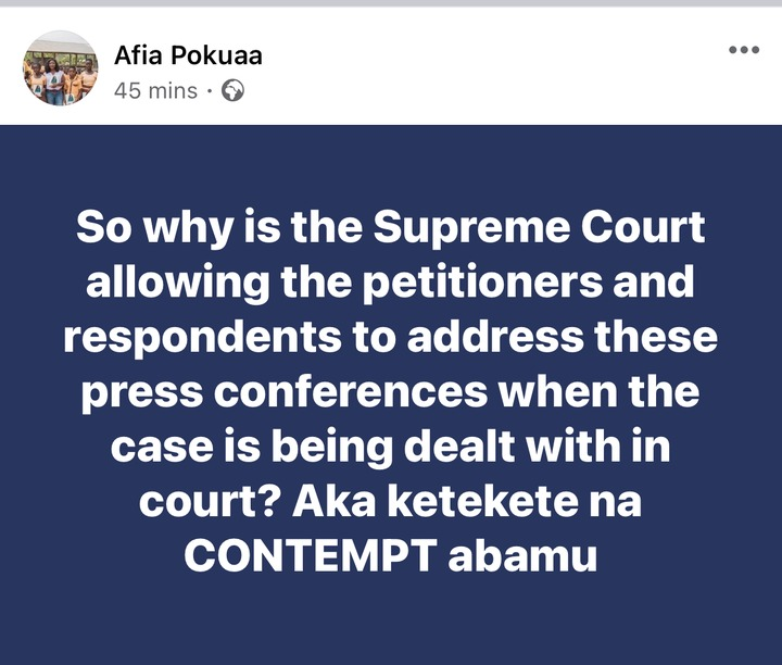 64fc70e9751d4bb89faca0f6d146add9?quality=uhq&resize=720 - Afia Pokua Hints Of A Possible Contempt Case After The Press Conference Held By The NDC And NPP