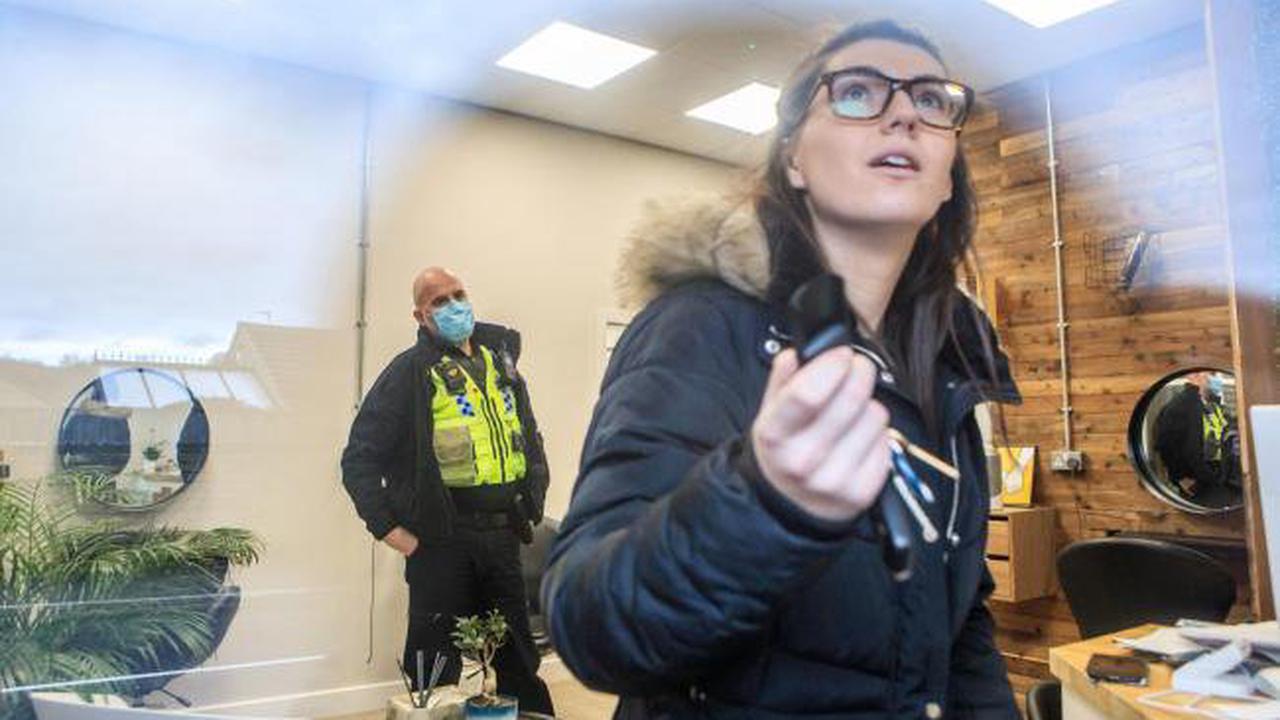 Lockdown-defying hairdresser reopens but declares on Instagram she won't wear mask or PPE