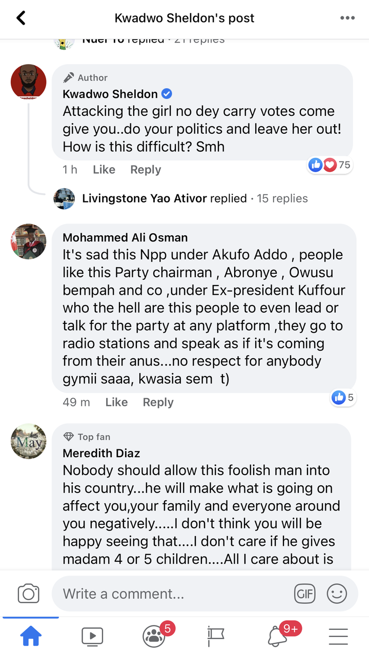 "6503997cd873e937e99264a099f3465c?quality=uhq&resize=720 - ""Leave The Girl Alone"" - Kwadwo Sheldon Warns Chairman Wontumi Over Mahama's Only Daughter, Farida Mahama"