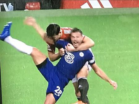 VAR Fails Chelsea Again; Checkout This Tackle That Should Have Been a Penalty