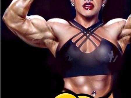 She Is Not A Man, She Is A Female Brazilian Fitness Model Who Looks Like A Man