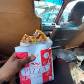 Kumasi Becomes The first Capital Town In Ghana To Sell Pizza At 5 Cedis A Piece.