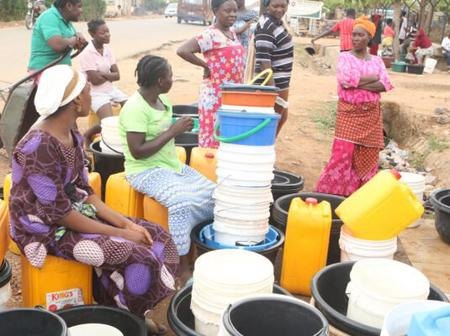 As water scarcity worsens in Abuja, see the amount residents buy one keg of water