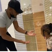 Netizens Pleased After Dj Mo's Daughter, Ladasha Did This To Him.