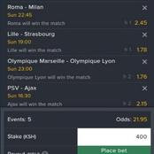 5 Sure Football Matches With the Best Odds to Bank on Today