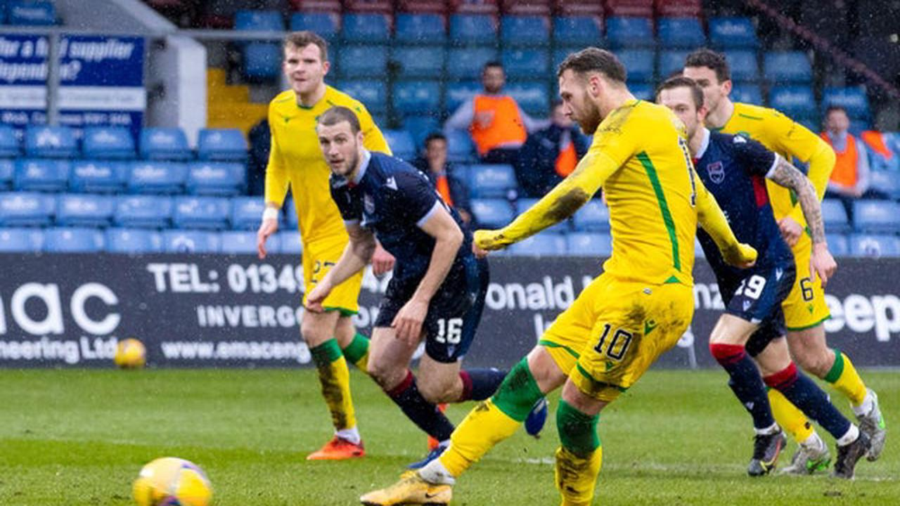 Alan Stubbs makes claim over diving accusations directed at Hibs' Martin Boyle