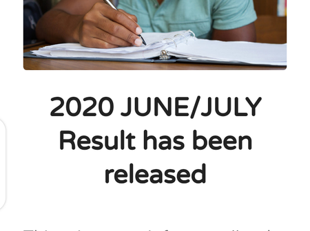 NECO Releases 2020 June/July Senior Secondary School Certificate Examination Results