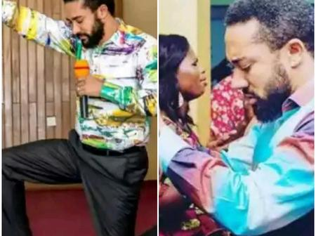 See Photos Of How Actor Majid Micheal Is Doing Deliverance In His Church In Real Life