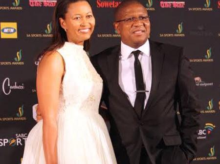 No wonder Fikile Mbalula is always Glowing, Meet His Beautiful Beloved Wife