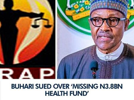 President Muhammadu Buhari is being sued over missing N3.8billion naira for public health funds