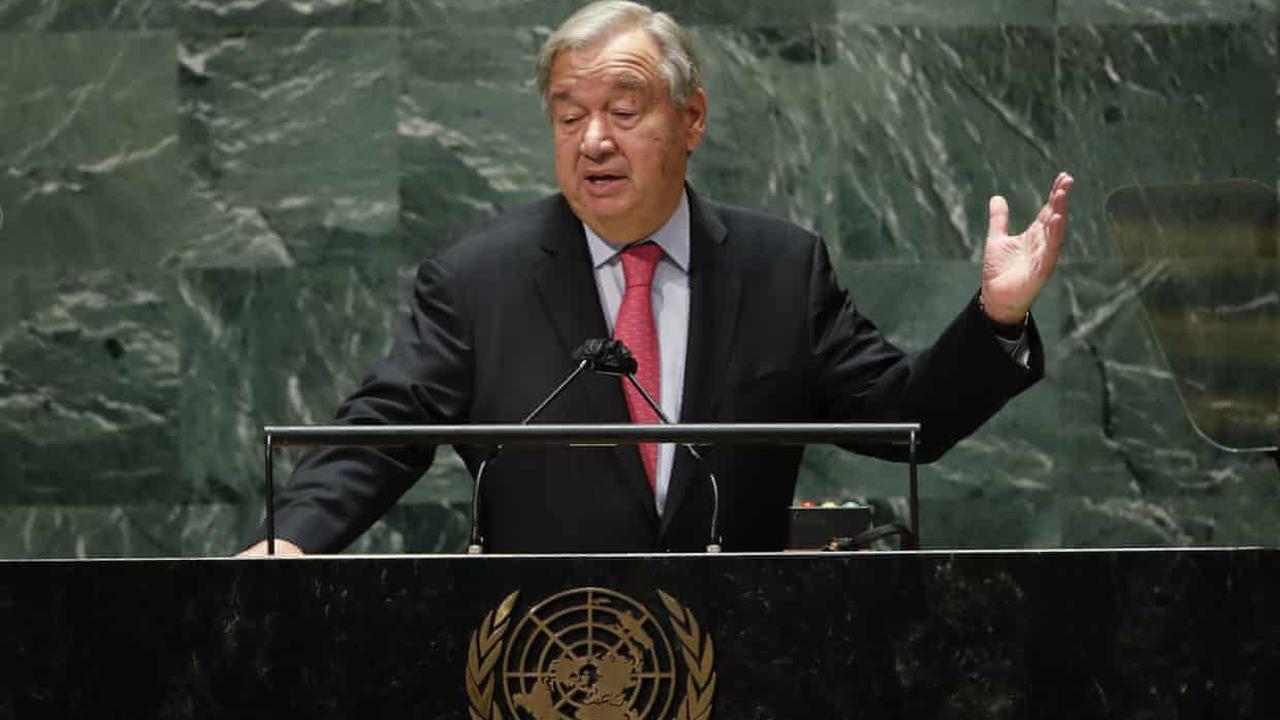 António Guterres 'sounds the alarm' over global inequalities in UN speech