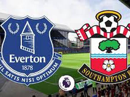 Southampton finally ends Everton unbeaten record after recording a 2-0 win against them.