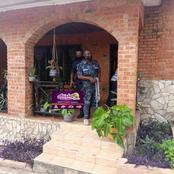 Ghana Police Storms LGBT Office in Ashoman Estate to close it down.