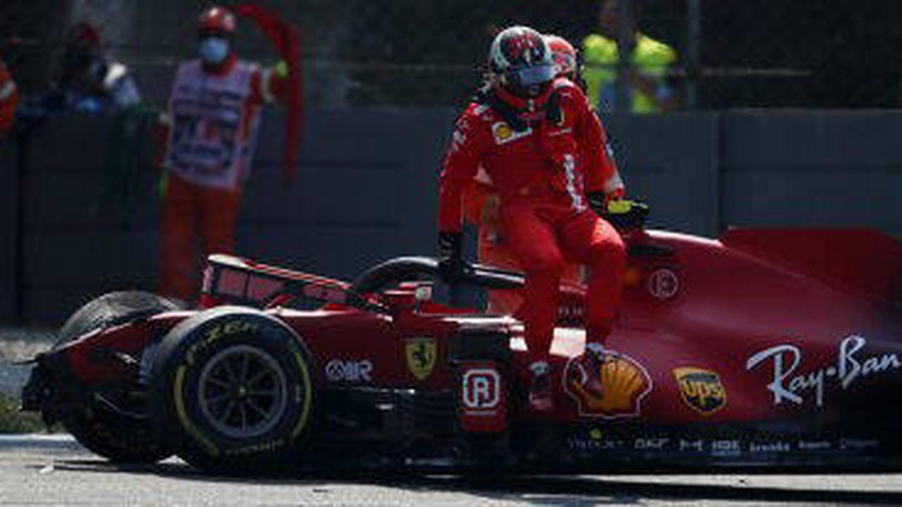 Sainz über Monza-Crash: Muss mich im Training zurücknehmen