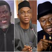 Reno Omokri Blows Hot, Says El-Rufai Can Never Be Goodluck Jonathan's Running Mate.
