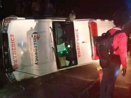 A Drunk Ambulance Driver Causes an Accident While Ferrying Patients To Kabarnet