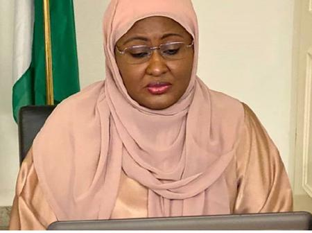 Pray For Nigeria - See What Aisha Buhari Posted On Her Instagram Page.